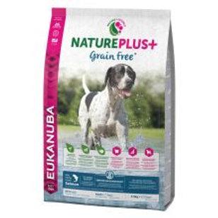 EUKANUBA NaturePlus+ Grain Free Adult All Breeds With Freshly Frozen Salmon