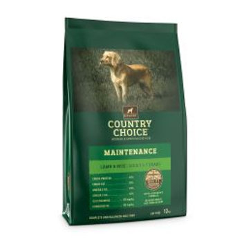 Gelert Country Choice Maintenance Lamb & Rice