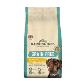 Harringtons Grain Free Hypoallergenic Turkey