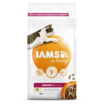 IAMS for Vitality Senior Cat Food with Fresh chicken