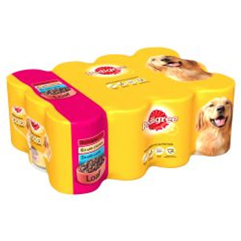 Pedigree Can in Loaf 12 Pack