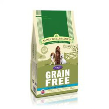 James Wellbeloved Dog Senior Grain Free Fish & Vegetables