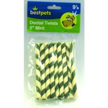 Bestpets Dental Twists Mint
