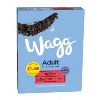 Wagg Complete Beef & Veg pm£1.49