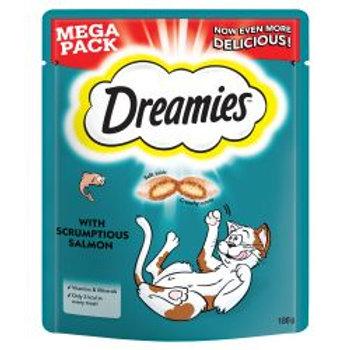 Dreamies Cat Treats with Scrumptious Salmon Mega Pack