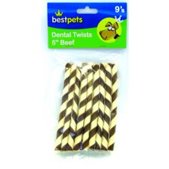 Bestpets Dental Twists Beef