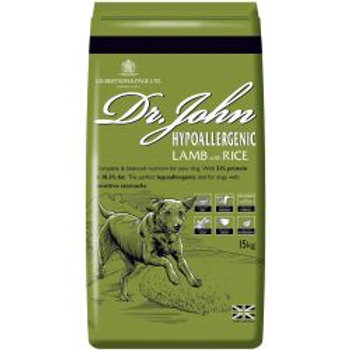 Dr John Hypoallergenic Lamb with Rice