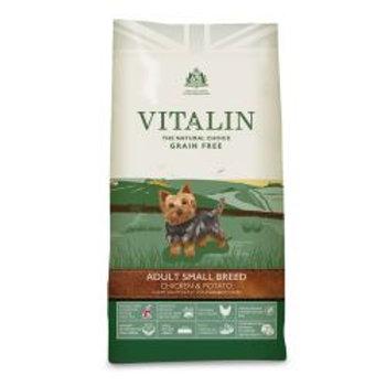 Vitalin Adult Grain Free Small Breed Chicken