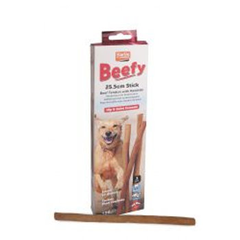 Beef & Rawhide Stick 3 Pack