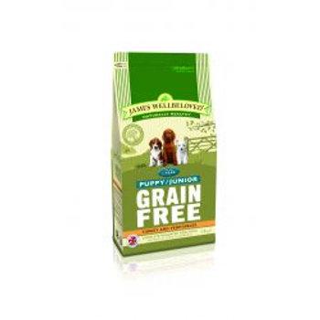 James Wellbeloved Dog Puppy/Junior Grain Free Turkey