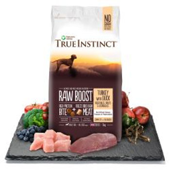 True Instinct Raw Boost Turkey with Duck For Adult Dogs