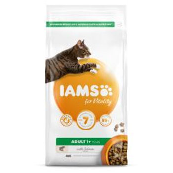 IAMS for Vitality Adult Cat Food with Salmon