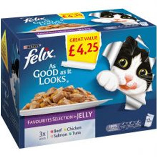 Felix As Good As It Looks Favourites Selection In Jelly  £4.25