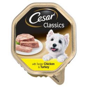 Cesar Alu Classic Chicken & Turkey