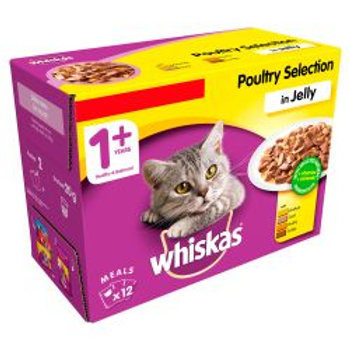 Whiskas Pouch Poultry £3.75 12 Pack
