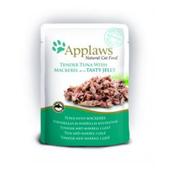 Applaws Cat Pouch Jelly Tuna & Mackerel