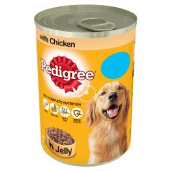 Pedigree Can Chunks in Jelly Chicken PM 75p
