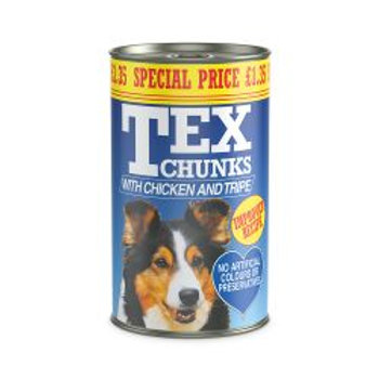 Tex Chicken & Tripe pm£1.35