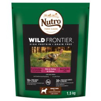 Nutro Dog Wild Frontier Adult Medium Breed Turkey & Chicken 1.5kg