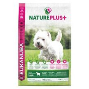 Eukanuba Nature Plus+ Adult Small Breed Rich in freshly frozen Lamb 2.3kg