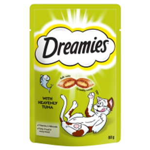 Dreamies Cat Treats with Tuna