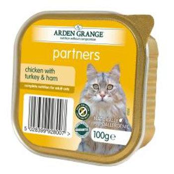 Arden Grange Cat Partners Chicken, Turkey & Ham
