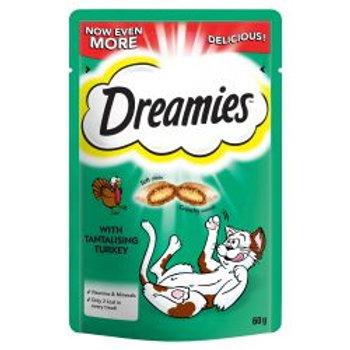 Dreamies Cat Treats with Tantalising Turkey