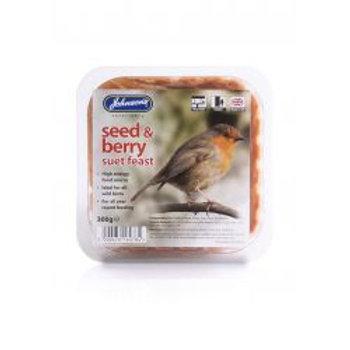 Johnson's Seed & Berry Suet Feast