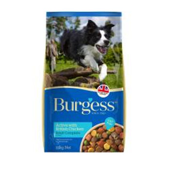 Burgess Active Dog Chicken and Beef