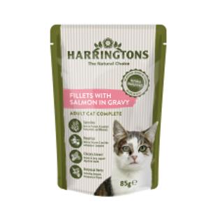Harringtons Cat Salmon in Gravy
