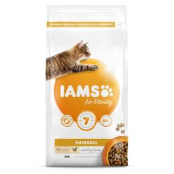 IAMS for Vitality Hairball Cat Food with Fresh chicken