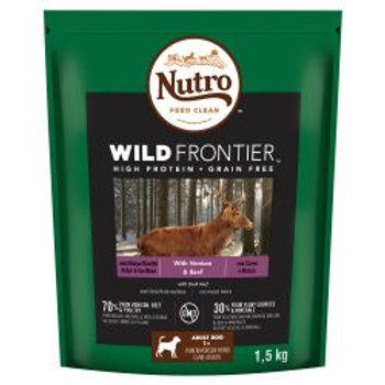 Nutro Dog Wild Frontier Adult Medium Breed Venison & Beef 1.5kg
