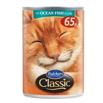 Classic Cat Ocean Fish 65p