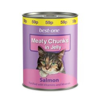 Best-one Cat Salmon 59p