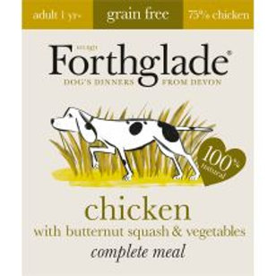 Forthglade Complete Meal Adult Chicken / Butternut Squas