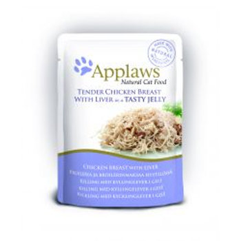 Applaws Cat Pouch Jelly Chicken & Liver