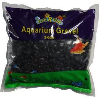 Fish 'R' Fun Aquarium Gravel Black