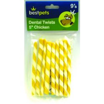Bestpets Dental Twists Chicken