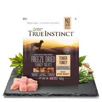 True Instinct Turkey Freeze Dried Treats for Adult Dogs