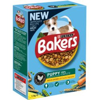 Bakers Puppy Chicken & Vegetables