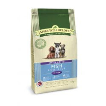 James Wellbeloved Dog Senior Small Breed Fish & Rice