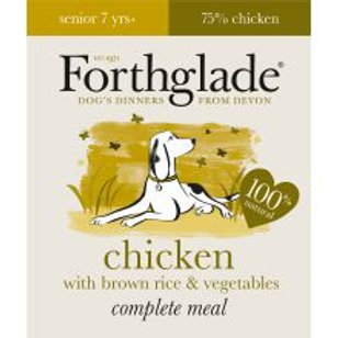 Forthglade Complete Meal Senior Chicken with Brown Rice & Vegetables