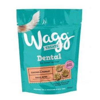 Wagg Small Bite Dental Bites Chicken & Parsley