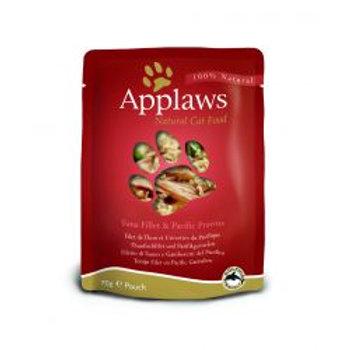 Applaws Cat Pouch Tuna & Prawn 12 Pack