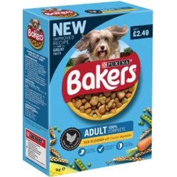 Bakers Adult Chicken & Vegetable PM £2.49