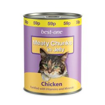 Best-one Cat Chicken Jelly 59p