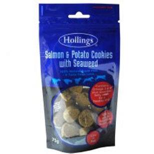 Hollings Salmon & Seaweed Cookies