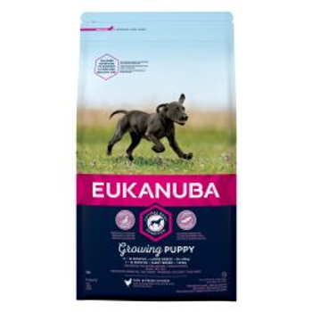EUKANUBA Growing Puppy Large Breed rich in fresh chicken 12kg