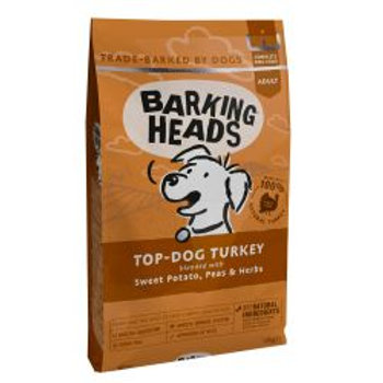 Barking Heads Top Dog Turkey (Formally Turkey Delight Grain Free)