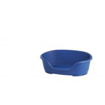 Do Not Disturb Plastic Dog Bed No3 Blue